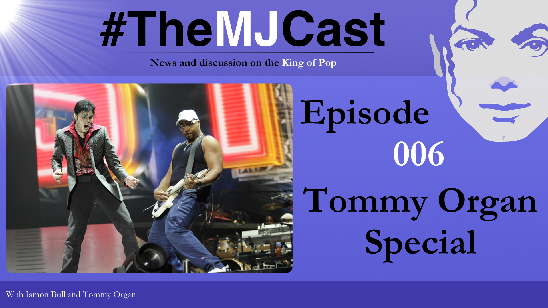 Episode 006 - Tommy Organ Special YouTube Art