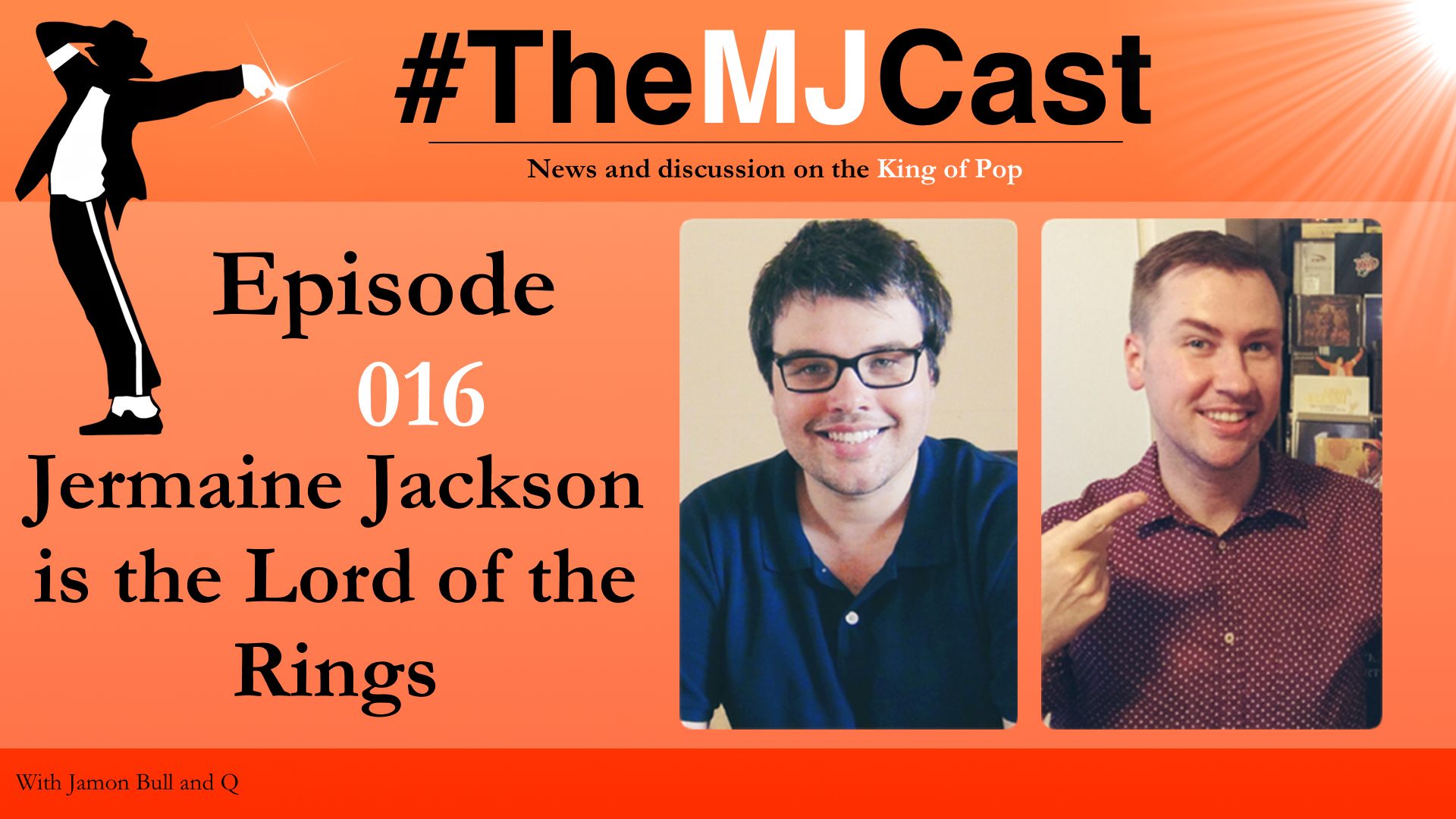 Episode 016 - Jermaine Jackson is the Lord of the Rings YouTube Art