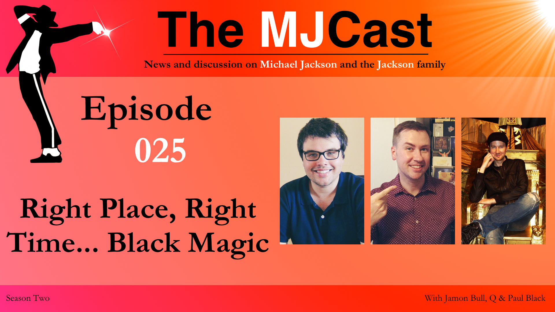 Episode 025 - Right Place, Right Time... Black Magic YouTube Art