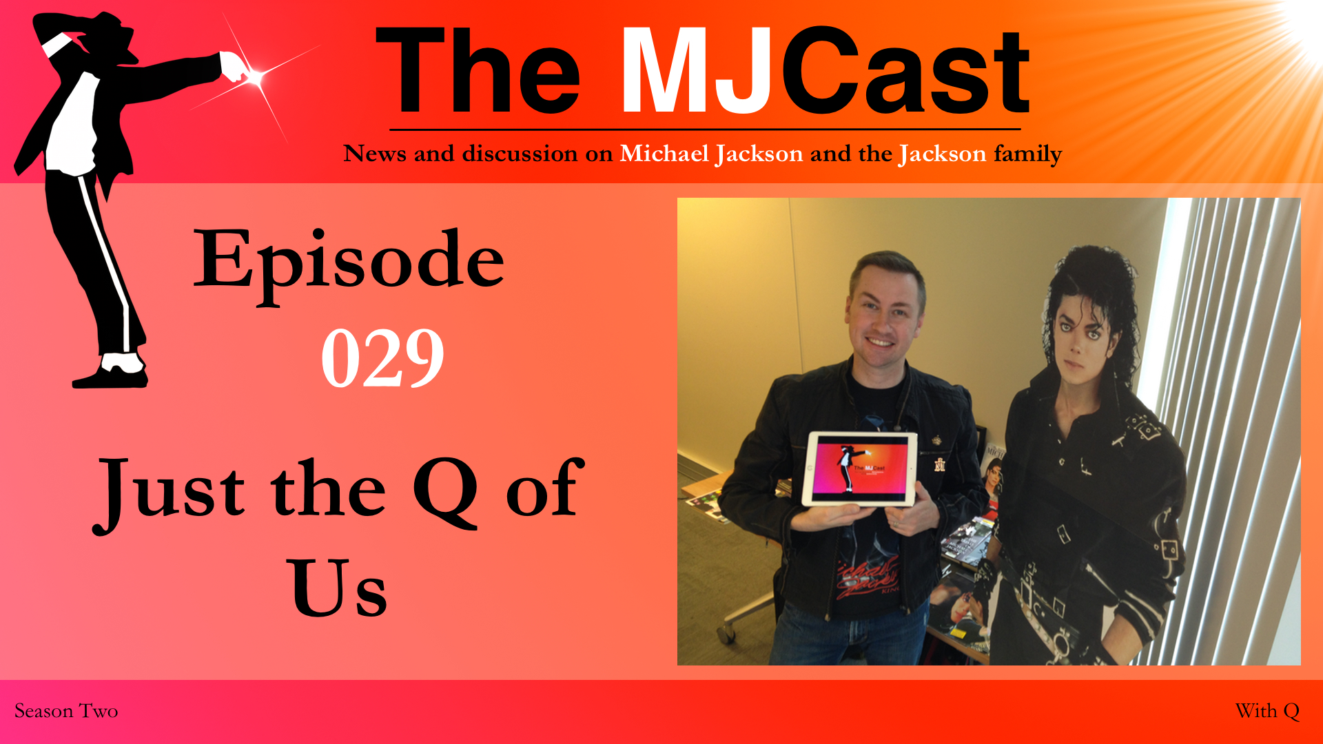 Episode 029 - Just the Q of Us YouTube Art